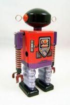 Robot - Robot Marcheur Mécanique en Tôle - Dark Templar (St.John Tin Toy) 03