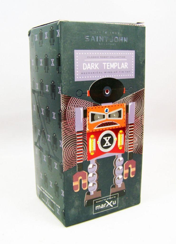 Robot - Robot Marcheur Mécanique en Tôle - Dark Templar (St.John Tin Toy) 04