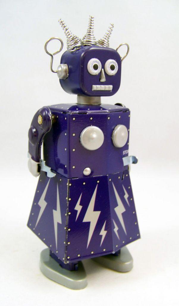Robot - Robot Marcheur Mécanique en Tôle - Electra Robot (St. John) 02