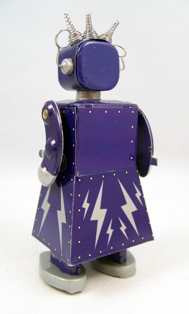 Robot - Robot Marcheur Mécanique en Tôle - Electra Robot (St. John) 03