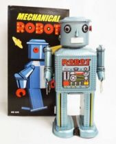 Robot - Robot Marcheur Mécanique en Tôle - Mechanical Robot (Ha Ha Toy)