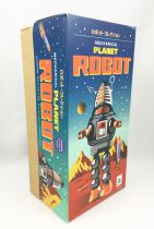 Robot - Robot Marcheur Mécanique en Tôle - Planet Robot (étincelant) noir Ha Ha Toy MS430N