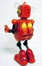 Robot - Robot Marcheur Mécanique en Tôle - Planet Robot (rouge)