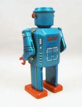 Robot - Robot Marcheur Mécanique en Tôle - R-35 Robot (St.John Tin Toy) 03