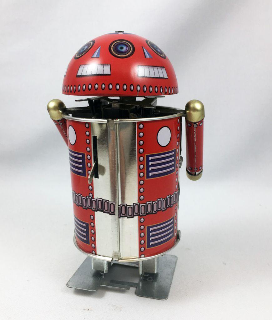 Robot - Robot Marcheur Mécanique en Tôle - Robo Cop (Tin Treasures)