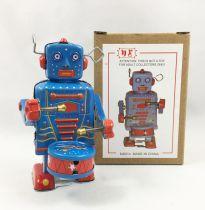 Robot - Robot Marcheur Mécanique en Tôle - Robot Tambour (N.R.) MS514