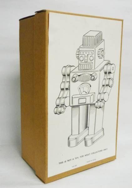Robot - Robot Marcheur Mécanique en Tôle - Smoking Space Man