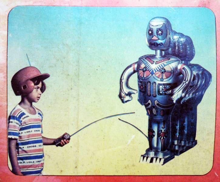 Robot - Robot Radiocommandé - Victor (Rollet S.A.)