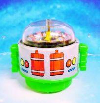 Robot - Rolling Robot - Roulette Robot (green)