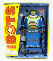 Robot - Wind-Up en Tôle Tin Bots (IMA-ROBOT) - Schylling