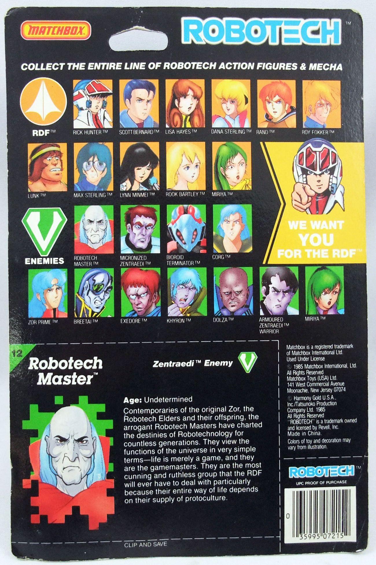 Robotech - Matchbox - Robotech Master