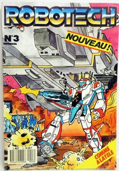 Robotech - NERI Editions - Monthly magazine #3