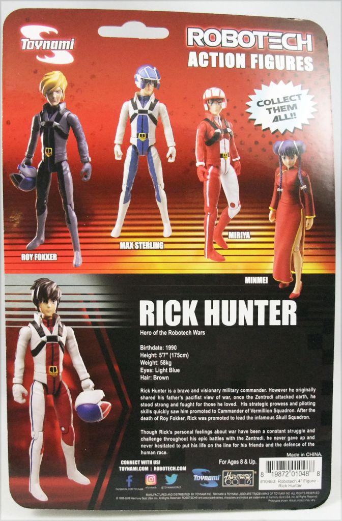 Robotech - Toynami Harmony Gold - Rick Hunter