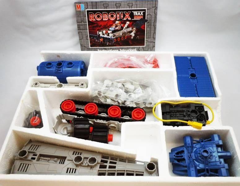 Robotix - Trax R1000 with 1 motor - MB Milton Bradley