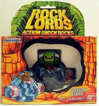 Rock Lords - Dragon Stone (Action Shock Rocks) - Bandai