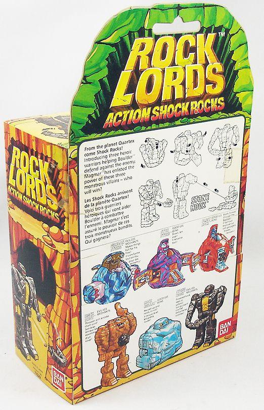 "Rock Lords - Stone Hook \""Action Shock Rocks\"" - Bandai"