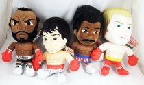Rocky - Whitehouse Leisure - Set of 4 12\'\' plush dolls : Apollo Creed, Clubber Lang, Ivan Drago, Rocky Balboa