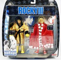 ROCKY III - Jakks Pacific - Rocky vs. Thunderlips (Hulk Hogan)