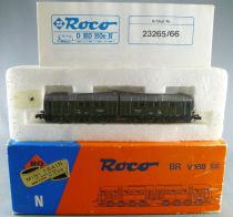 Roco 23266 N Scale Db Diesel Double Locomotive Series V 188 with Light Green Livery Mint in Box