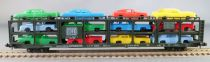 Roco 2351 N Scale Db Bogies Cars Transporter 3 Levels 12 CarsMint in box
