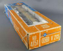 Roco 4151 Ho Db Locomotive Diesel BR V215 033-2 Bleu Crème Eclairage Boite