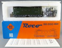 Roco 43466 04157D Ho Sncf Electric Loco BB 8257 Series 8100 Green Livery with Light Near Mint in Box