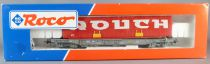 Roco 46368 Ho Sncf Segi Deep Well Flat Wagon with Rouch Red Container Near Mint in Box