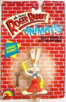Roger Rabbit - 3\'\'3/4 action figure LJN 1988 - Mint on card
