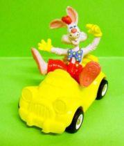 Roger Rabbit & Benny le Taxi - Figurine PVC 8cm Bully 1988 - Neuve