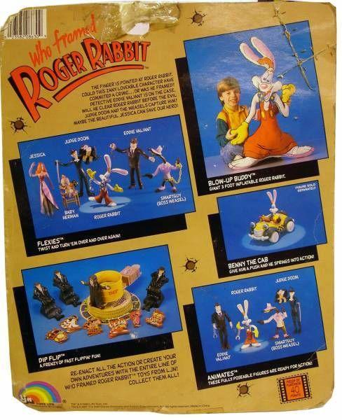 Roger Rabbit - Figurine flexible 30cm LJN 1988 - neuve sous blister