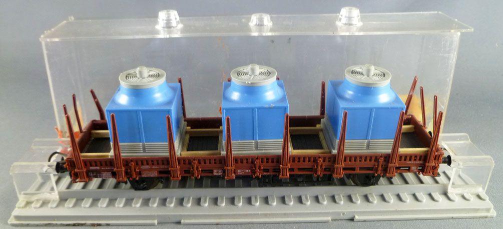 Röwa Ho Db Flat Wagon with 3 Steelworks Box Near Mint in box