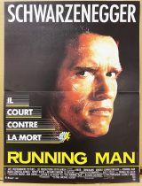 Runnig Man (Arnold Schwarzenegger) - Affiche 40x60cm - TriStar Pictures 1987