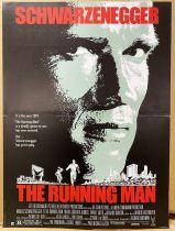 Runnig Man (Arnold Schwarzenegger) - Affiche 40x60cm - Warner Bros. 1987