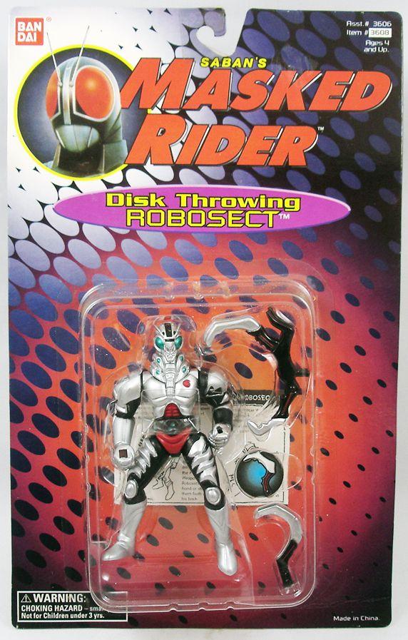 Saban\'s Masked Rider - Bandai - Disc Throwing Robosect