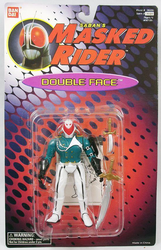 Saban\'s Masked Rider - Bandai - Double Face