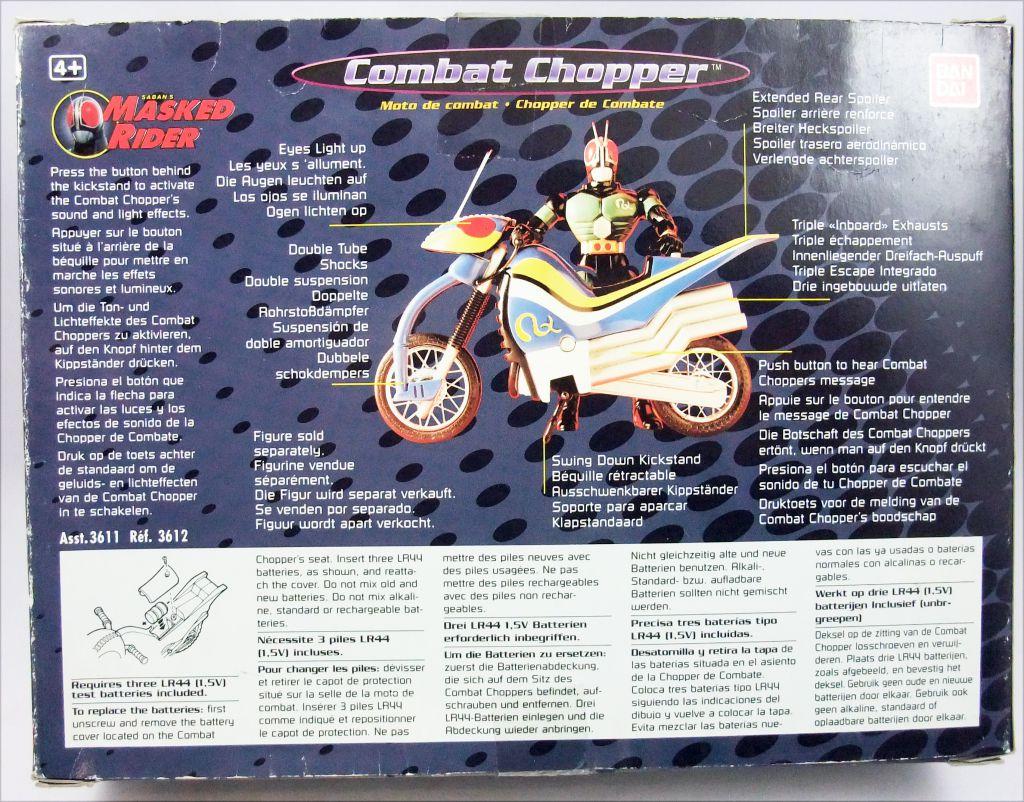 Saban\'s Masked Rider - Bandai - Moto parlante Combat Chopper
