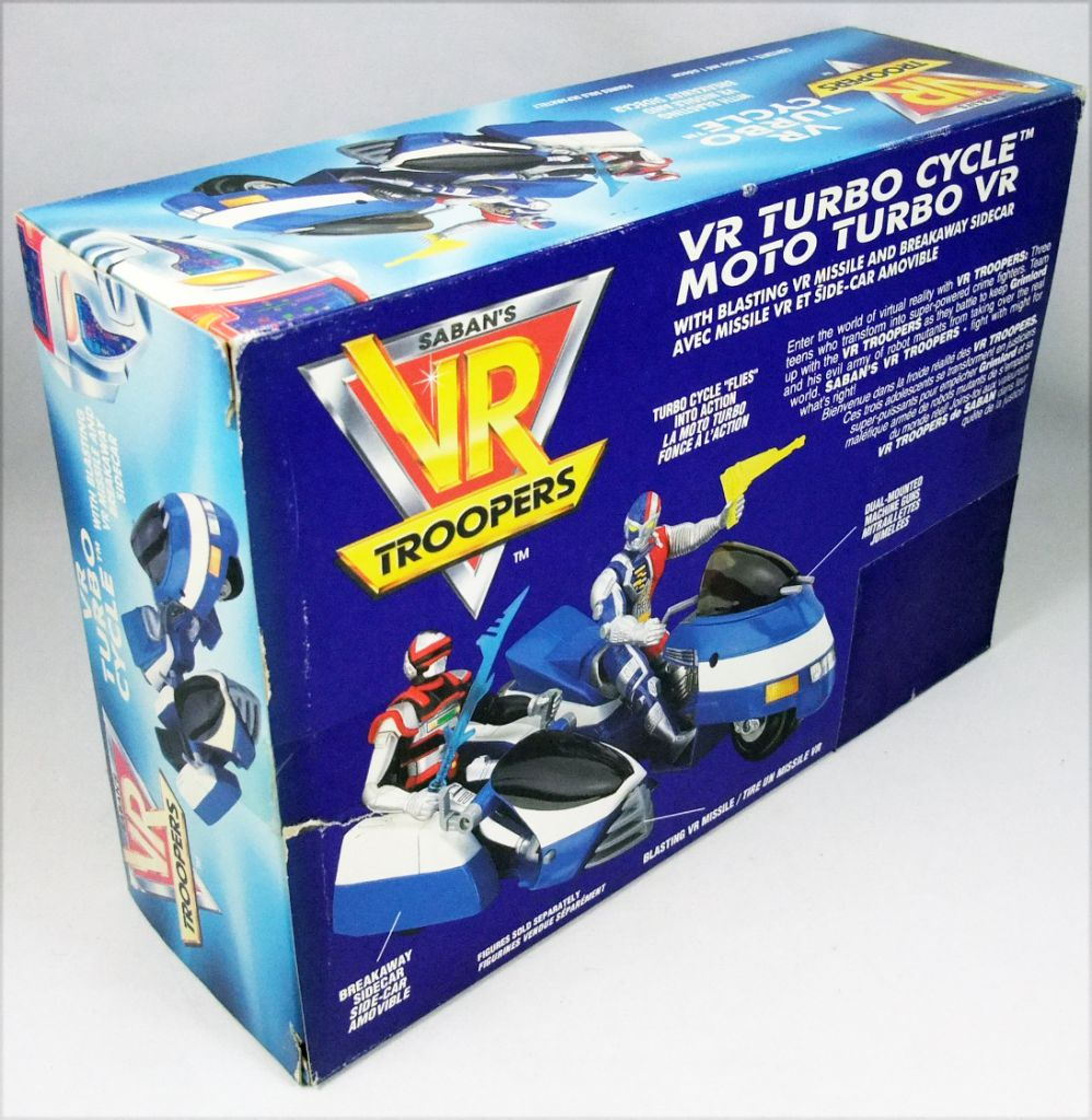 Saban\'s VR Troopers - Kenner - VR Turbo Cycle