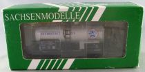 Sachsenmodelle 18908 Ho Sncf Tank Wagon 2 Axles Azur Desmarais SCwf 566046 Mint in Box