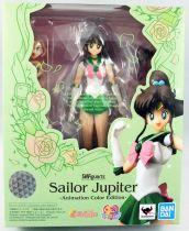 "Sailor Moon - Bandai S.H.Figuarts - Sailor Jupiter Makoto Kino \""Animation Color Edition\"""