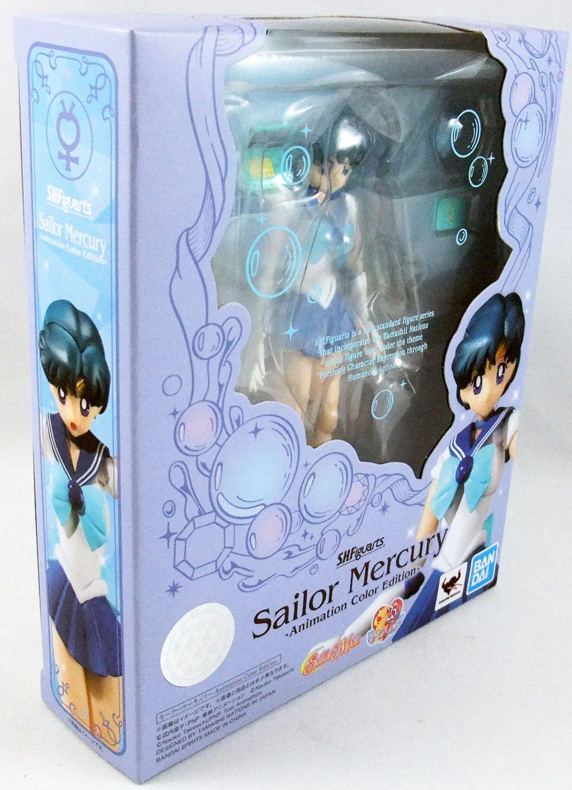 """Sailor Moon - Bandai S.H.Figuarts - Sailor Mercury Ami Mizuno \""""Animation Color Edition\"""""""