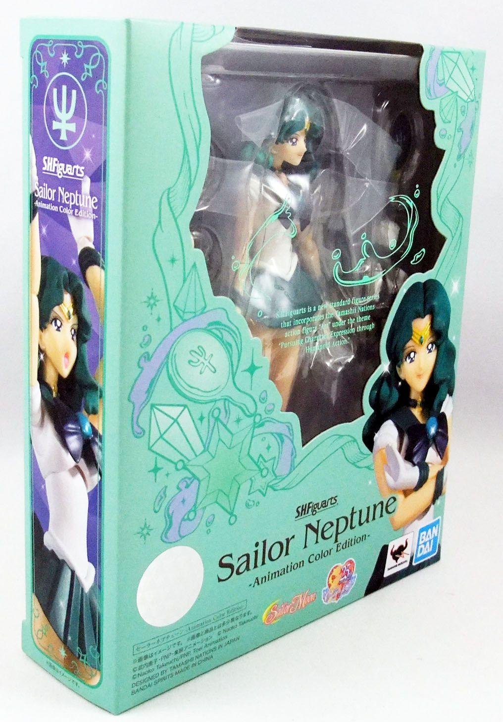 "Sailor Moon - Bandai S.H.Figuarts - Sailor Neptune Michiru Kaio \""Animation Color Edition\"""