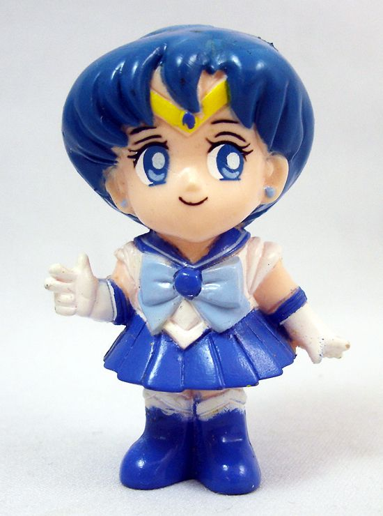 Sailor Moon - Super-Deformed Figure - Sailor Mercury - Bandai