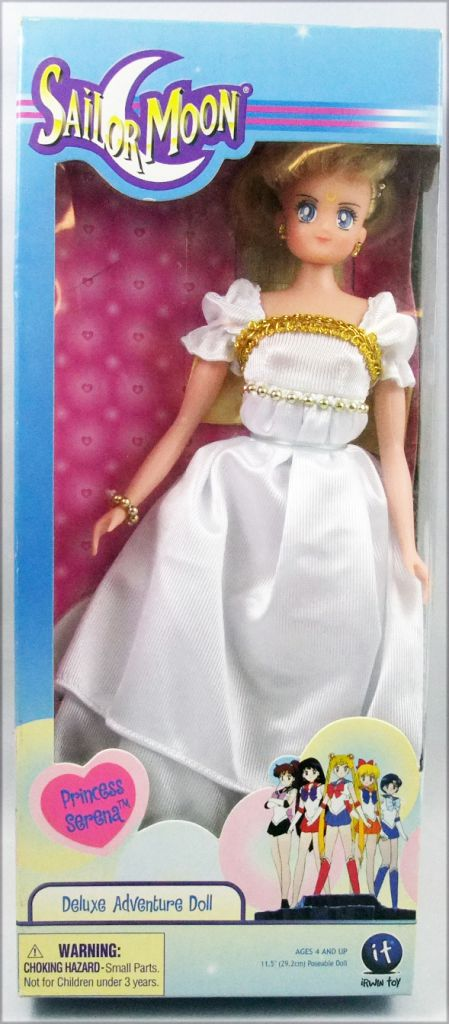 Sailor Moon -Irwin Toy - Princess Serena 12\'\' doll