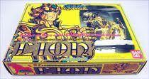 Saint Seiya - Aiolia - Chevalier d\'Or du Lion (Bandai France) (early plain box)