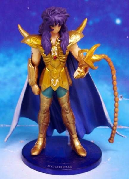 Saint Seiya - Bandai - Agaruma Figure - Milo du Scorpion