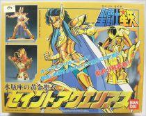 Saint Seiya - Bandai Model-kit - Aquarius Cloth (Camus)