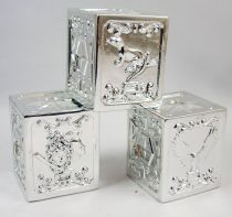 Saint Seiya - Folei - Set of 3 Silver Saints Pandora Boxes : Lizard, Crow, Perseus (loose)