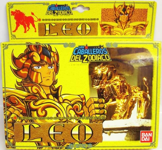 Saint Seiya - Leo Gold Saint - Aiolia (Bandai Spain)