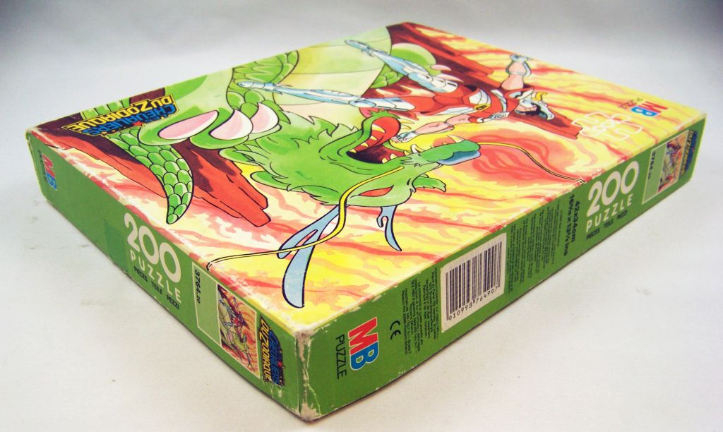 Saint Seiya - Puzzle MB (ref.3764.20) - Pegase et l\'attaque du Dragon 03