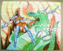 Saint Seiya - Puzzle MB (ref.3764.20) - Pegase et l\'attaque du Dragon 04